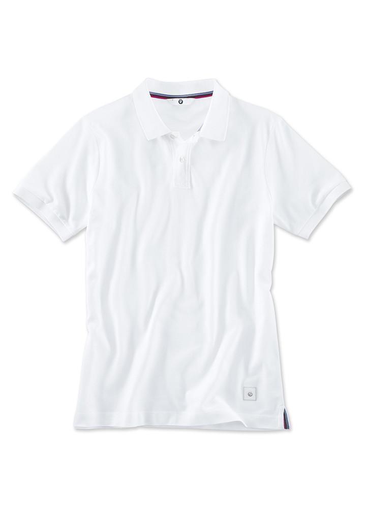 BMW Erkek Polo T-Shirt-Beyaz-S