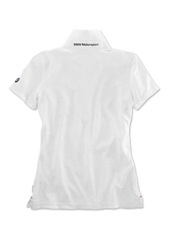 BMW Motorsport Kadın Polo T-Shirt-Beyaz-XS