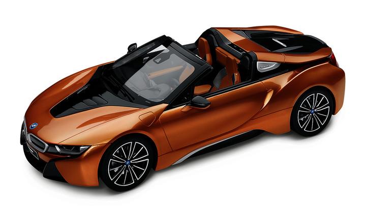 BMW miniature i8 Roadster lim.edit.1:12 (12)