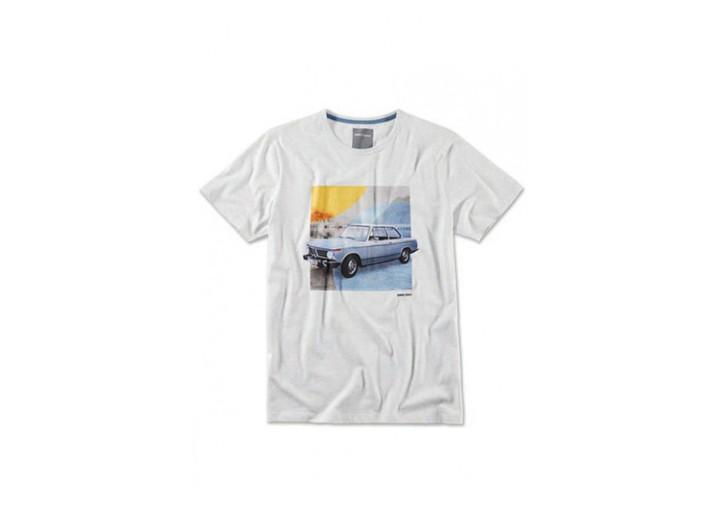 BMW GRİ KLASİK T-SHIRT M